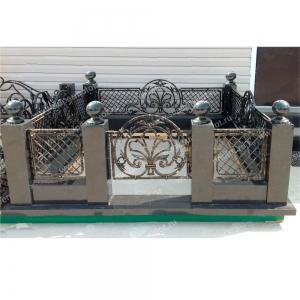 Оградка на могилу 385 - 22000 руб/метр
