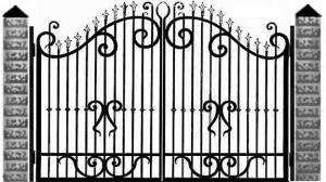 Кованые ворота 053