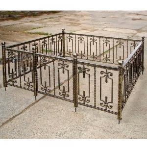 Оградка на могилу 210 - 6700 руб/метр