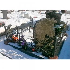 Оградка на могилу 352 - 9500 руб/метр