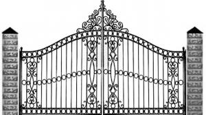 Кованые ворота 117