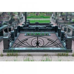 Оградка на могилу 302 - 4200 руб/метр