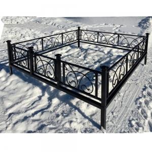 Оградка на могилу 202 - 4200 руб/метр