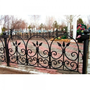 Оградка на могилу 256 - 4400 руб/метр