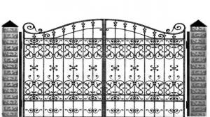 Кованые ворота 112