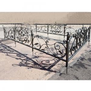 Оградка на могилу 358 - 18500 руб/метр