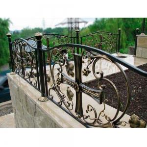 Оградка на могилу 384 - 12400 руб/метр
