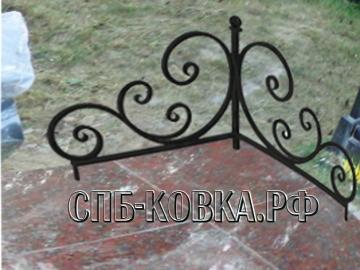 Уголок на могилу 12  - 3 800 рублей/шт.