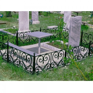Оградка на могилу 231 - 9100 руб/метр