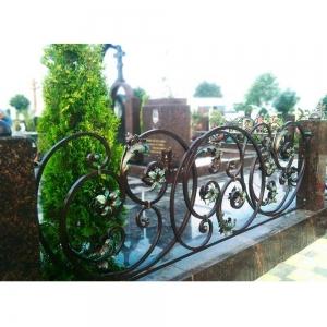 Оградка на могилу 341 - 12600 руб/метр