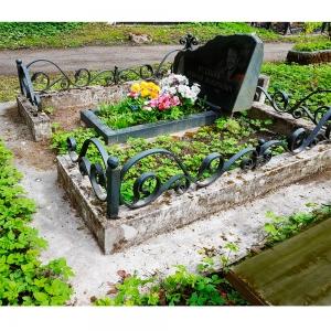 Оградка на могилу 230 - 14300 руб/метр