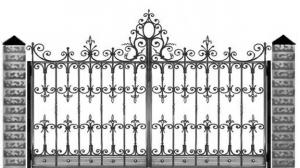 Кованые ворота 114