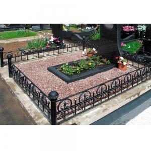 Оградка на могилу 218 - 4200 руб/метр