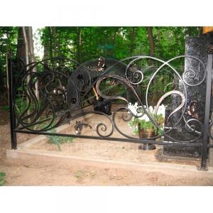 Оградка на могилу 265 - 8200 руб/метр