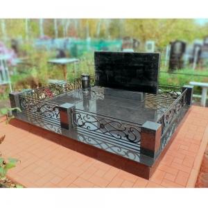 Оградка на могилу 303 - 7600 руб/метр
