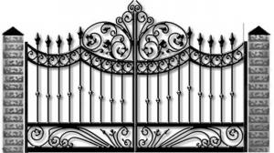 Кованые ворота 095