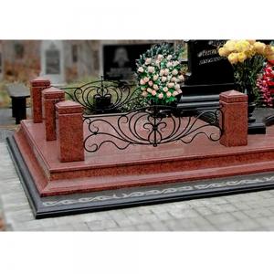 Оградка на могилу 332 - 8200 руб/метр