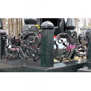 Оградка на могилу 379 - 18000 руб/метр