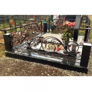Оградка на могилу 318 - 12500 руб/метр
