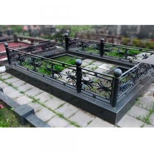 Оградка на могилу 243 - 4400 руб/метр