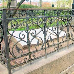 Оградка на могилу 267 - 7400 руб/метр