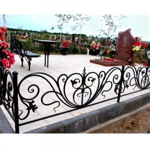 Оградка на могилу 319 - 21000 руб/метр
