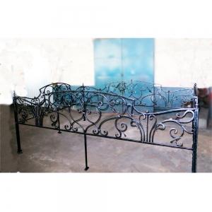 Оградка на могилу 383 - 13500 руб/метр