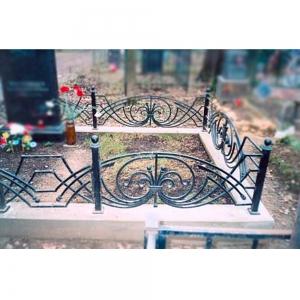 Оградка на могилу 313 - 9600 руб/метр